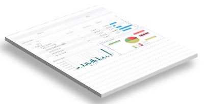 Dashboards Intuitive BI Tablet